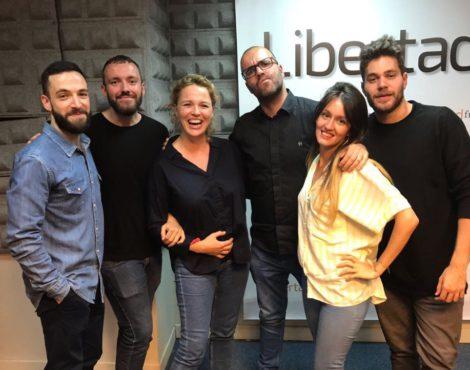 Sección de televisión de Borja Terán con María Villardón en Gestiona Radio